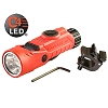 Streamlight Vantage® 180 250 Lumens Helmet/Right-Angle Multi-Function Flashlight: 2-3V CR123A (Included) - Orange