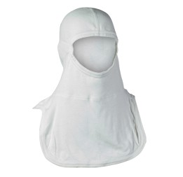 "Majestic PACII® 21"" Firefighting Hood: 100% Nomex - White"