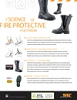 Leather Fire Boots Tech Sheet