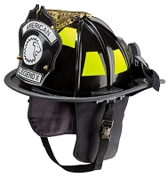 LION American Legend X® Traditional Style Firefighting Helmet with Faceshield