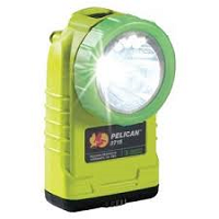 Pelican 3715PL® 233 Lumens 4AA LED Photoluminescent Flashlight (Alkaline Model) - Yellow