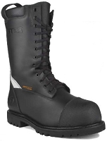 STC Commander® Leather Firefighting Boots (Zip-Lace)