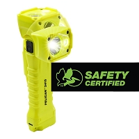 Pelican 3415® 336 Lumens 3AA LED Articulating Right Angle Light - Yellow