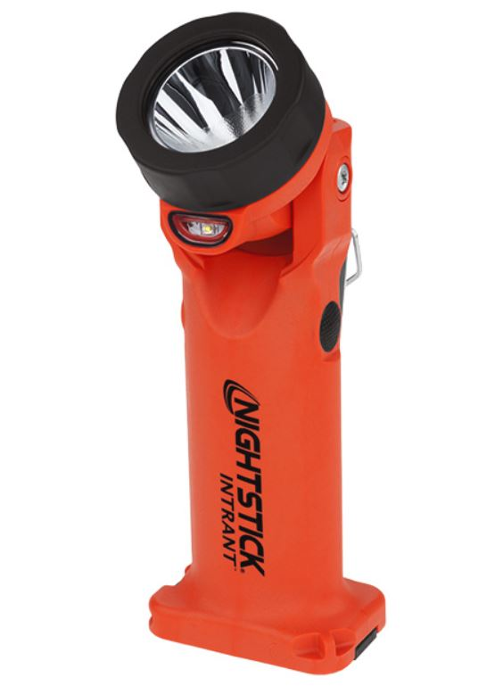 Bayco NightStick INTRANT® Intrinsically Safe Permissible Dual-Light® Angle Light Rechargeable - Red