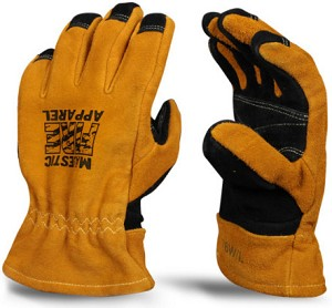 Majestic® 3D Structural Firefighting Gloves, Gauntlet Cuff