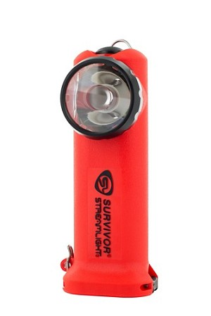 Streamlight Survivor® 175 Lumens LED Flashlight: 4AA Alkaline - Orange