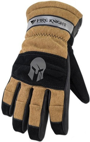 Veridian Fire Knight 3D Structural FireFighting Gloves